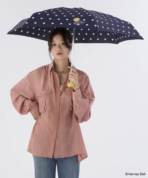 雨傘 スマイリーフェイスmini