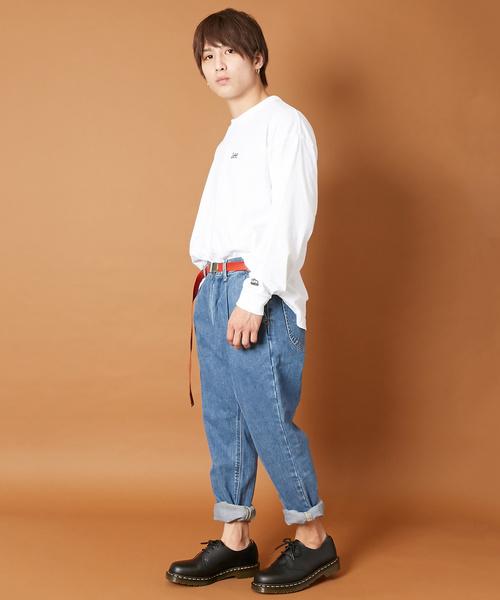 LEE /リー × LIDNM /リドム 別注 テーパードデニムパンツ