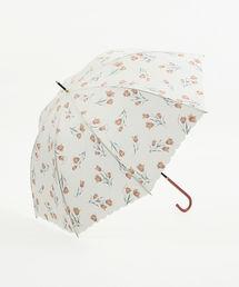Cocoonist(コクーニスト)のチューリップ柄晴雨兼用長傘 雨傘(長傘)