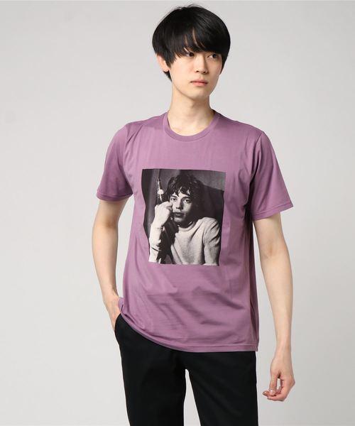 THE ROLLING STONES/GLOBE THEATRE 1965 pt Tシャツ