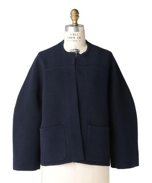 Drawer 12Gクルーネックニットジャケット