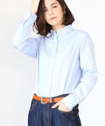 ソフトオックスボタンダウンシャツ