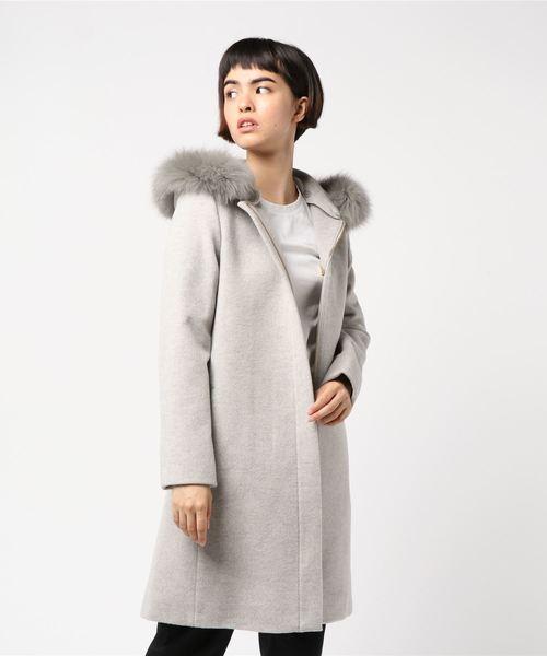 【2018?新作】 【ブランド古着】ファーコート(その他アウター)|INED(イネド)のファッション通販 - USED, ヤワタシ:14dad2ff --- kredo24.ru