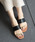 SESTO(セスト)の「3連スリッパフラットサンダル※(サンダル)」|詳細画像