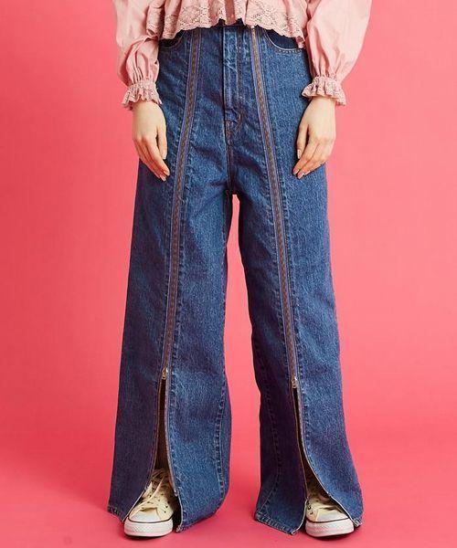 激安商品 LittleSunnyBite Sunny/リトルサニーバイト/Zipper Little denim denim pants(デニムパンツ)|Little sunny bite(リトルサニーバイト)のファッション通販, ミチオショップ【作業服 事務服】:a4b462ce --- rise-of-the-knights.de