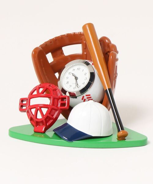ミニチュアクロック(野球)