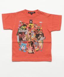 SKLX/TEENAGE DIRTBAG pt Tシャツ【XS/S/M】オレンジ