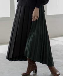 Eimee Law(エイミーロウ)の【Eimee Law】BOX×アコーディオンアシメプリーツスカート(スカート)