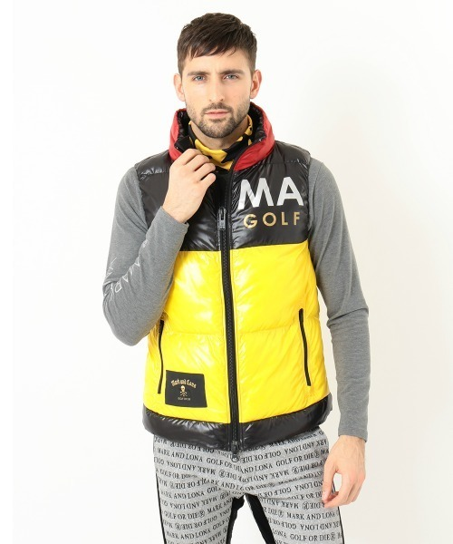 Hype Block Puffy Vest | MEN
