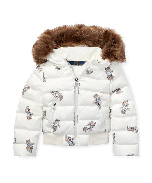 ca9bf564d4e10 Polo Ralph Lauren Childrenswear(ポロ キッズ)の「Polo ベア ダウン ジャケット(ダウン