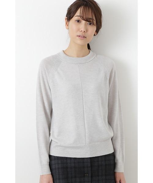 有名なブランド 柄編み使いラグランプルオーバー, lovestory-shop1 6a2176df