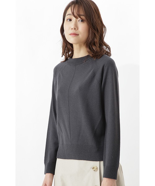 【国内正規品】 柄編み使いラグランプルオーバー, ブランド古着の買取販売 WanBoo 2b0549ab