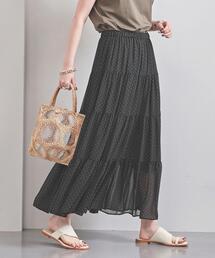 UWFM シア— ティアード スカート