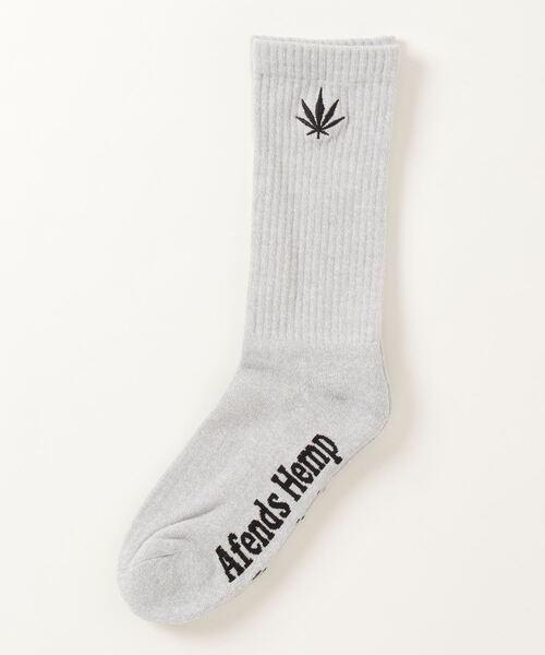 【 Afends / アフェンズ 】Happy Hemp Socks ハッピーヘンプソックス A214668 JJA