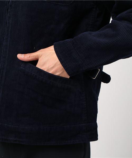 【HOUSTON】コーデュロイファーマーズジャケット