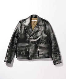 <Mr.Completely> LEATHER MOTO JACKET/ダブルライダース ◆