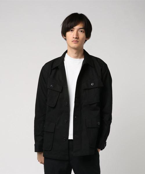 アメリカンラグシー AMERICAN RAG CIE / ミリタリーシャツジャケット Military Shirt Jacket