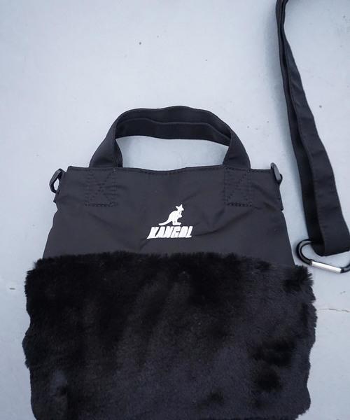 KANGOLコラボ Fuluffy bag