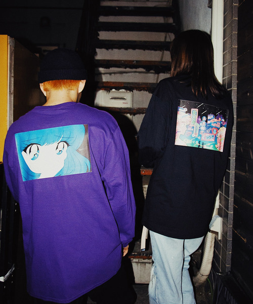 【STEE】チャイナ服パイ投げロンT / KISA