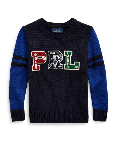 2019最新のスタイル PRL コットン レターマン セーター, コウナンマチ e42d22de
