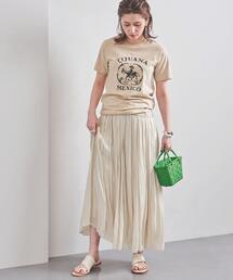 UWFM シャイニー ロングスカート