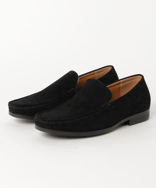 AN by LUCIUS(アンバイルシウス)の「【 AN by LUCIUS 】 Vamp loafers  / アン バイ ルシウス ヴァンプローファー(ローファー)」|ブラック系その他2