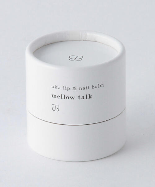 <uka> lip & nail balm mellow talk