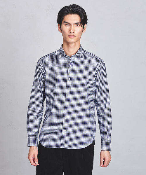 UASB ギンガムチェック シャツ ◆