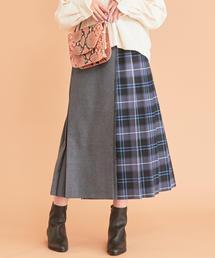 【予約】BY LOCHCARRON キルトチェックロングスカート