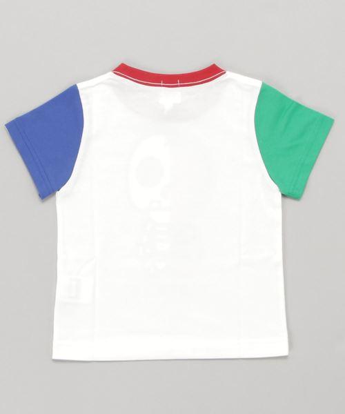 A BATHING APE(アベイシングエイプ)の「MILO & BONE GLOW IN THE DARK TEE K(Tシャツ/カットソー)」 詳細画像