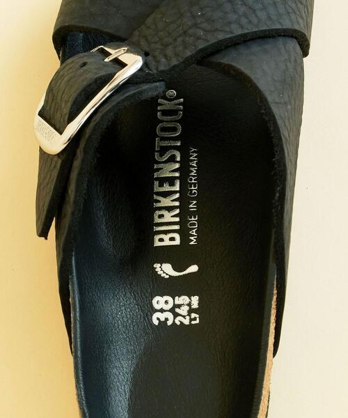 BIRKENSTOCK(ビルケンシュトック)の「【予約】【別注】<BIRKENSTOCK(ビルケンシュトック)>SIENA シエナビッグバックル レザーサンダル(サンダル)」|詳細画像