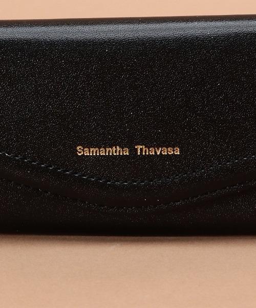Samantha Thavasa(サマンサタバサ)の「シンプルラメレザー キーケース(キーケース/キーアクセサリー)」|詳細画像