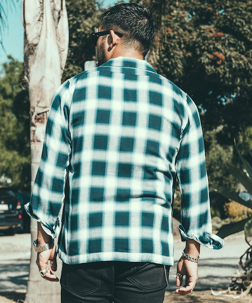 MEXICAN CHECK LONG SLEEVE SHIRT