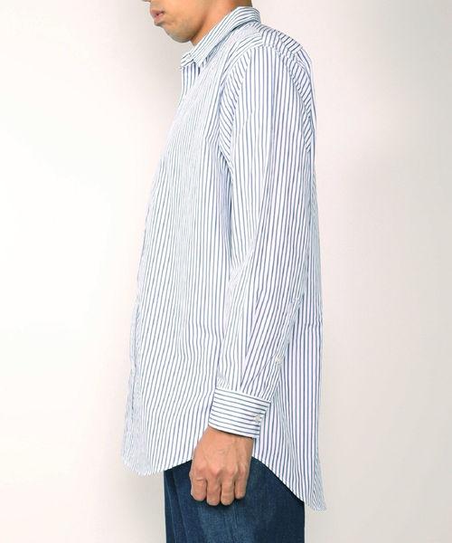 アメリカンラグシー AMERICAN RAG CIE / ビッグシルエットストライプシャツ Big Silhouette Stripe Shirt