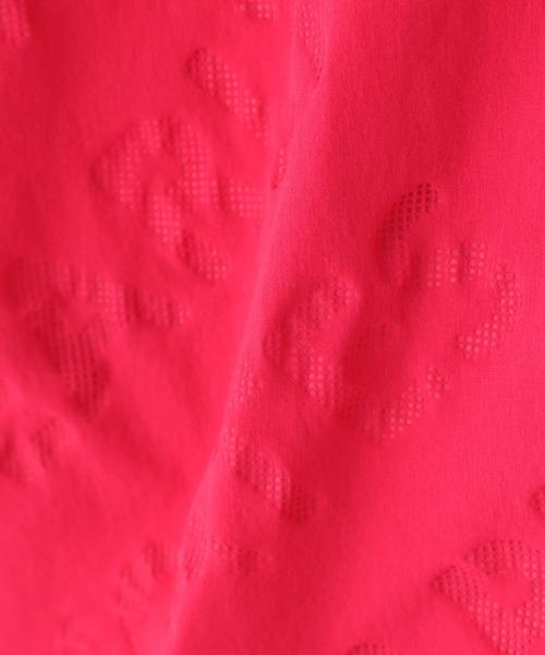 PEARLY GATES(パーリーゲイツ)の「【PEARLY GATES】タスランストレッチ ロゴエンボスプリント(スカート)」 詳細画像