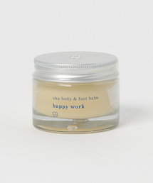 <uka> body & foot balm happy work