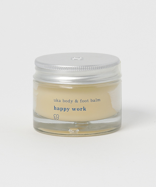 <uka> body & foot balm happy work