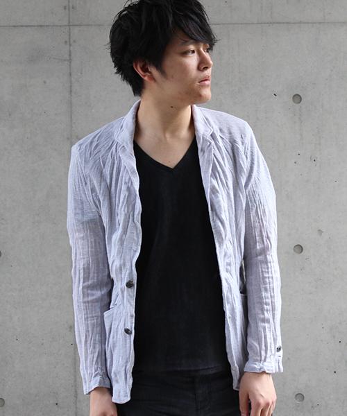 福袋 【セール】TORNADO MART∴スラブテト麻ジャケット(テーラードジャケット)|TORNADO MART(トルネードマート)のファッション通販, becosme:32c4d047 --- tsuburaya.azurewebsites.net