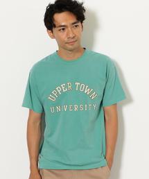 SC ピグメント クルーネック 半袖 Tシャツ ◆