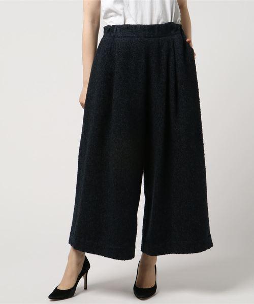 Traditional Weatherwear(トラディショナルウェザーウェア)の「エラスティック ウエスト クロップドパンツ(その他パンツ)」|グレー系その他