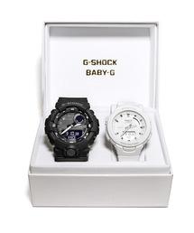 Gショック × ベビーG ペアモデル G-SHOCK × BABY-G Pair Model / G-SQUAD(ジー・スクワッド) / GBA-800-1AJF × BSA-B100-7AJF(腕時計)