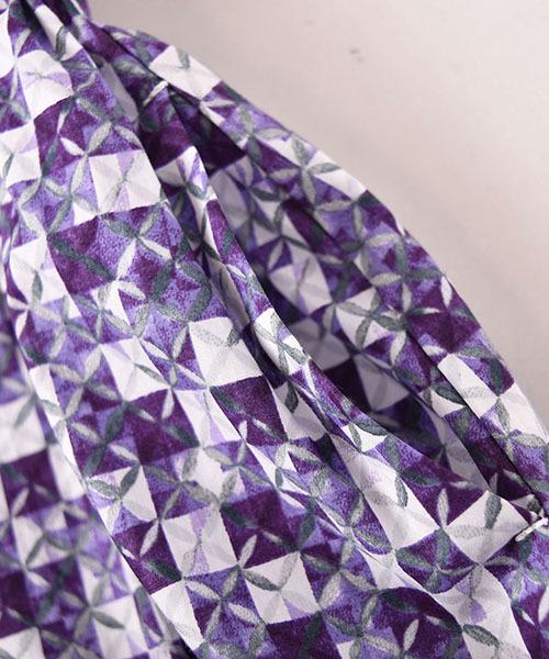 Tartine et Chocolat/LIBERTY(Potter's Quilt)フレアワンピース(90cm~100cm)