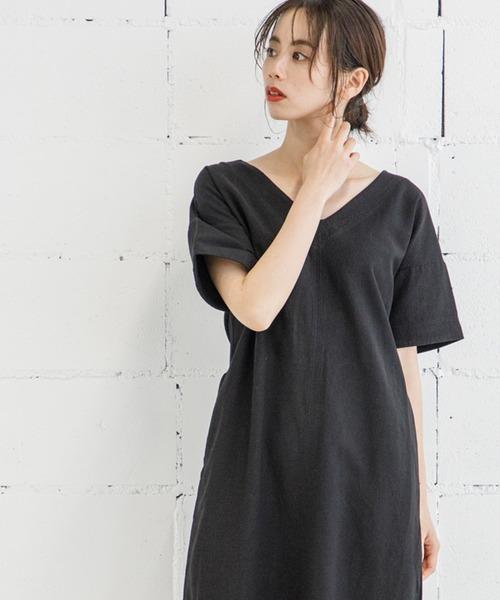 【STYLEBAR】ウォッシングステッチドレス