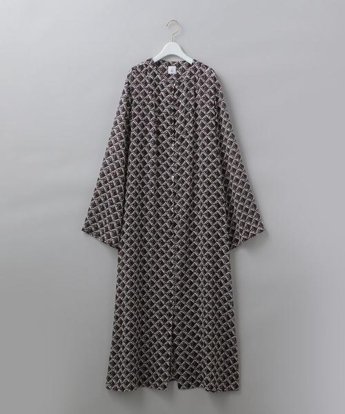 <6(ROKU)>SQUARE PRINT DRESS/ワンピース Ψ