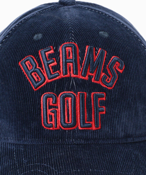 BEAMS GOLF(ビームスゴルフ)の「BEAMS GOLF / ツアー コーデュロイ キャップ(キャップ)」 詳細画像