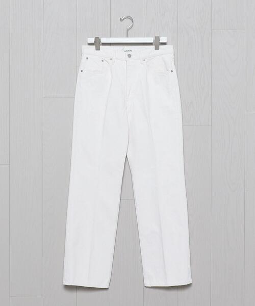 <AURALEE>WHITE DENIM PANTS/パンツ.