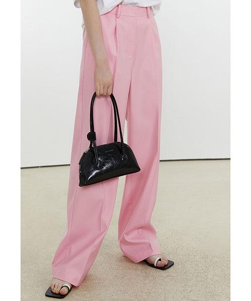 【Fano Studios】【2021SS】Sakura pink straight slacks FX21K070