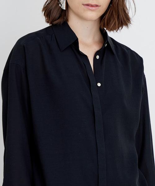 ハイツイストオーバーシャツ
