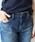 Jines(ジネス)の「【 Healthy / ヘルシー】  Healthy Saltフリンジテーパードデニムパンツ(デニムパンツ)」|詳細画像
