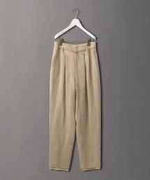 <6(ROKU)>LINEN PANTS NATURAL/パンツ